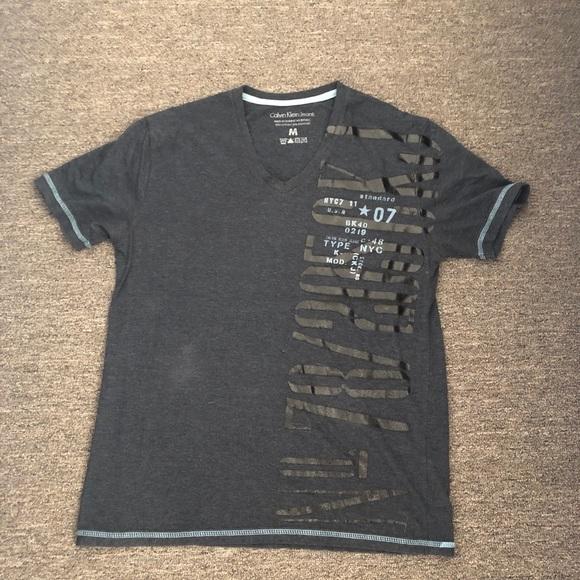 Calvin Klein Jeans Other - Calvin Klein Jeans Blue Short Sleeve T-Shirt M